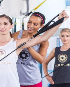 Entrenamiento Club Pilates