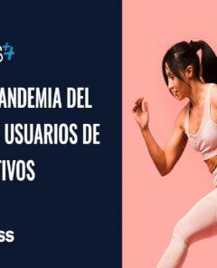 Póster del Estudio de Impacto en los usuarios de MAS, Gympass y la Universidad de Alcalá